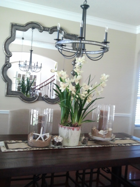 Summer table centerpiece for the home pinterest