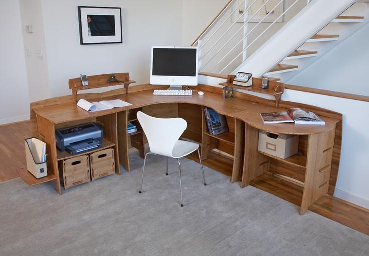 bamboo corner desk bamboo
