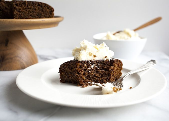Gingerbread Cake with Bourbon Hard Sauce | Now Bring us some figgy pu ...