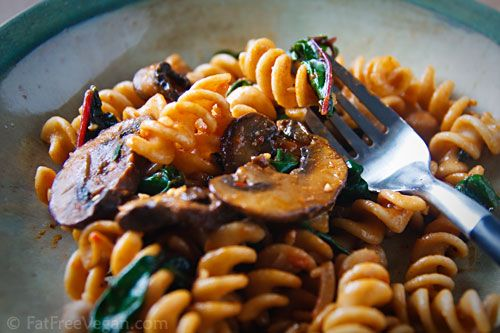 Pasta with Chard and Chickpeas | Recipe