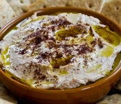 Black-Eyed Pea Hummus with Olive Oil & Sumac from Kalyn's Kitchen