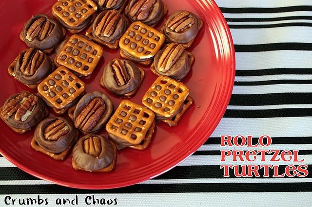 Pretzel and Rolo Turtles | Fatty McFattypants | Pinterest