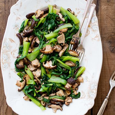 Bok Choy with Shiitake Mushrooms | Recipe