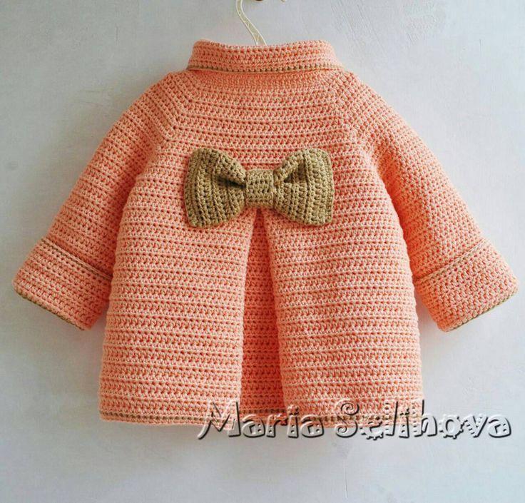 Мастер класс вязание пальто детское для 597