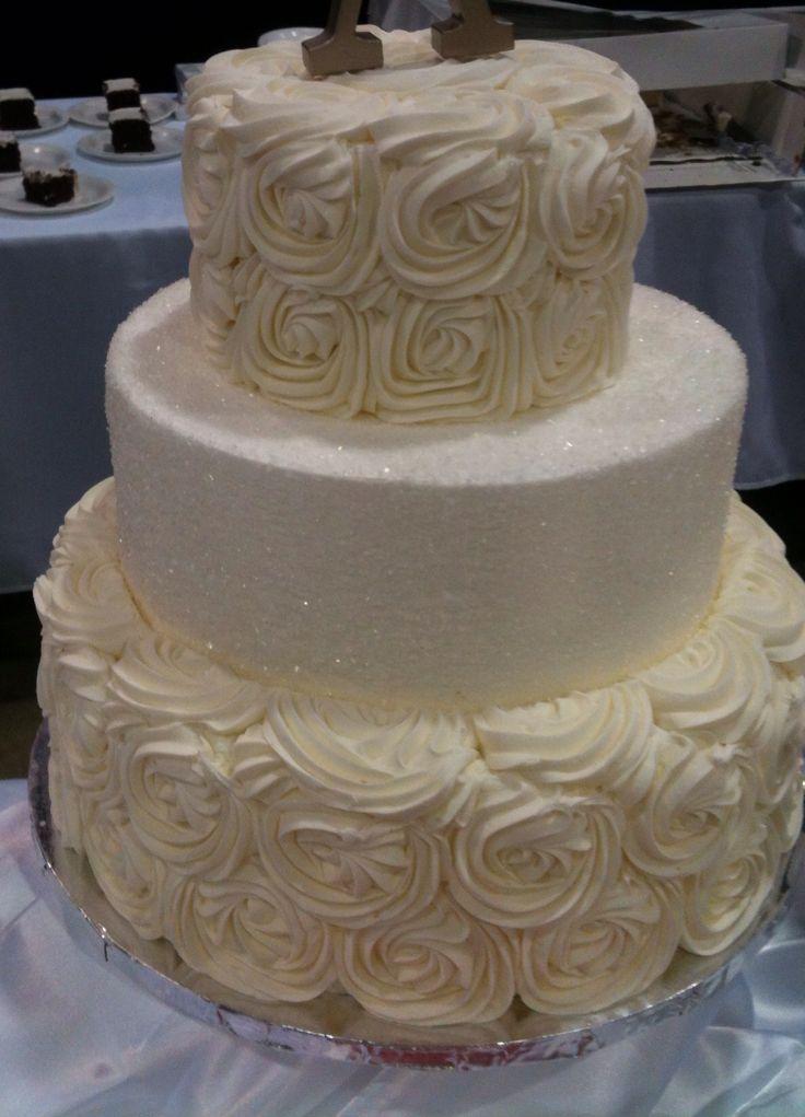 my wedding cake find it at walmart wedding ideas pinterest. Black Bedroom Furniture Sets. Home Design Ideas