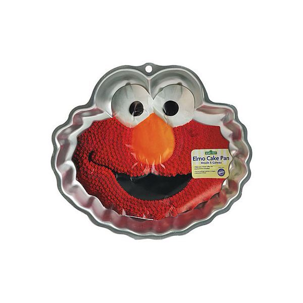Elmo cake pan- party city  Emans 2nd birthday  Pinterest