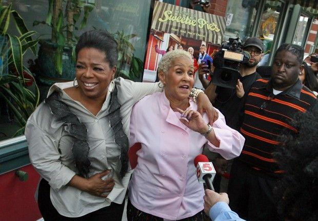 Oprah visits Sweetie Pies
