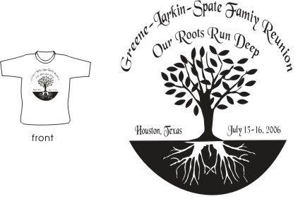 Family Tree Designs For Family Reunions Family Reunion t Shirt Design