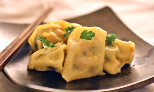 Pork And Spinach Wonton Recipe — Dishmaps