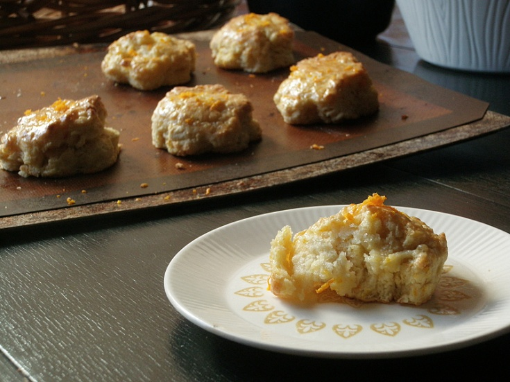 Glazed Orange Scones | Bread & Breakfast | Pinterest