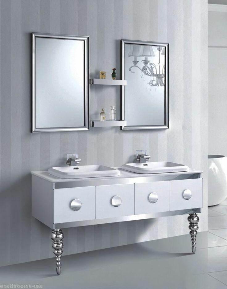 Excellent Unique Bathroom Unique Bathroom Hanging Wire Shelves Decorating Ideas
