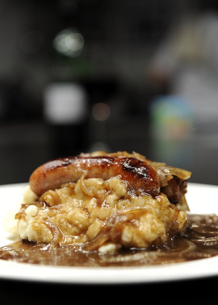 bangers mash bbc good food healthy recipe for bangers and mash healthy ...