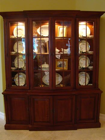 accessorizing a china cabinet design decorating ideas