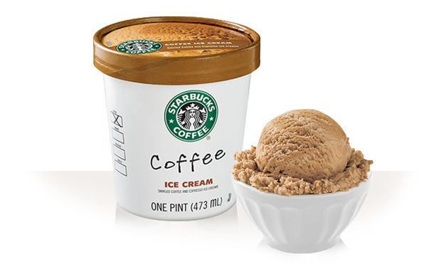 This IS the best coffee ice cream in the world. Swirled coffee and ...