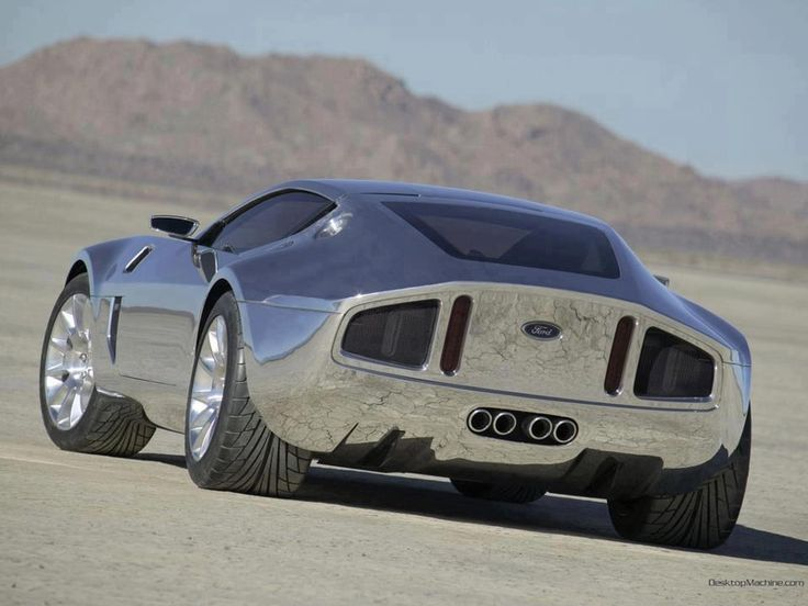 Classic Cars Ford Shelby Gri Concept Silver New