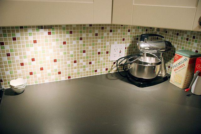 image mid century modern kitchen backsplash