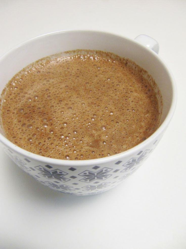 ... twist on an old favorite! Raw hot chocolate with Barlean's Coconut Oil