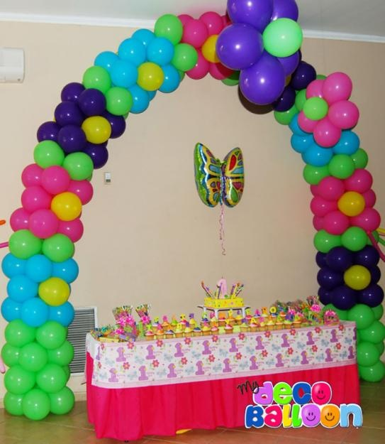Balloon decorations google search kids parties for Balloon decoration color combinations