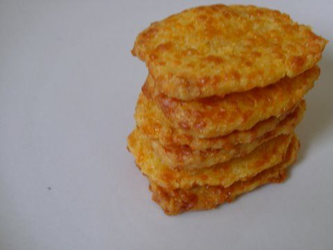 Homemade Cheese Crackers | Food | Pinterest