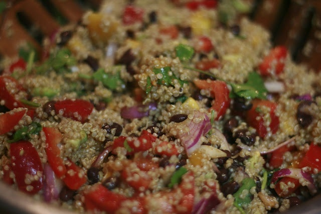 Mexican Quinoa Salad | yummy for my tummy | Pinterest