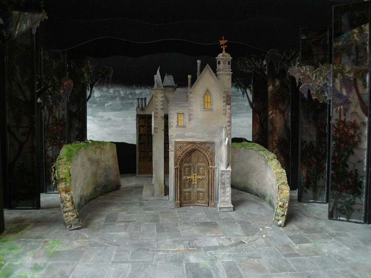Set Designs Secret Garden Musical Life Upon The Wicked