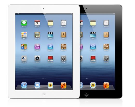 The new iPad. With the stunning Retina display. 5MP iSight camera. And ultrafast 4G LTE