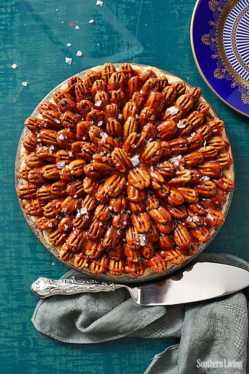 Salted Caramel Chocolate Pecan Pie | Thanksgiving-best holiday ever ...
