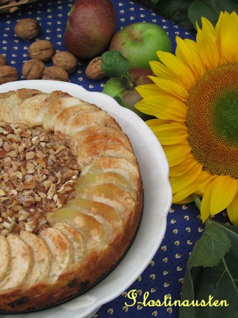 Cinnamon - Apple Walnut Torte | International Recipes & Preparation ...