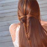 Fishtail braid fun :)