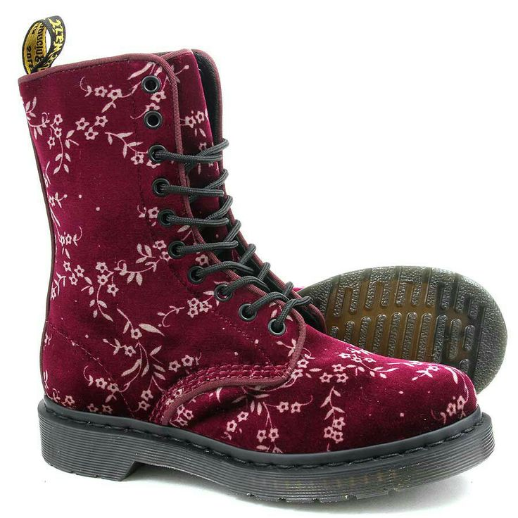Awesome Dr Martens Triumph 1914 Women39s Mid Calf Boots Floral Fold Over