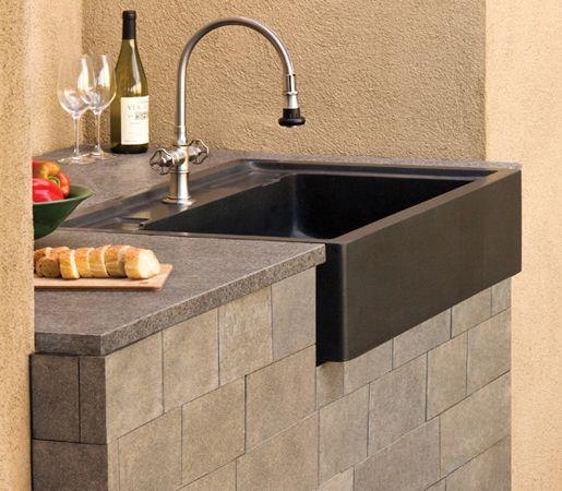 Salus Outdoor Kitchen Sink Backyard escapes Pinterest