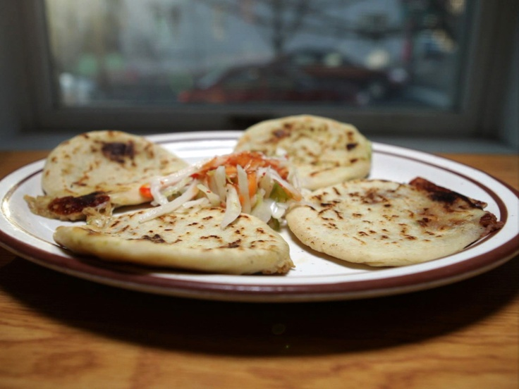 Pupusas from CookingChannelTV.com Very good, rich and tasty. I like ...