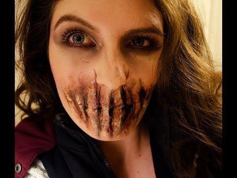 zombie sfx makeup easy halloween makeup  effects makeup