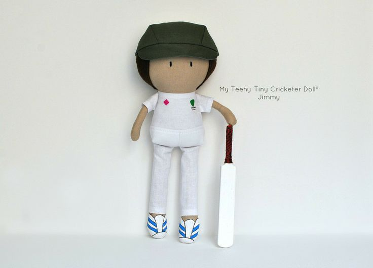 """My Teeny-Tiny Doll® Jimmy / 11"""" Handmade Fashion Doll by Cook You Some Noodles"""