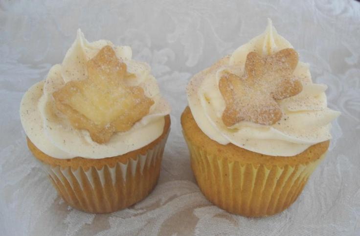 Pumpkin pie cupcakes | Cupcake Madness (Part 6) | Pinterest