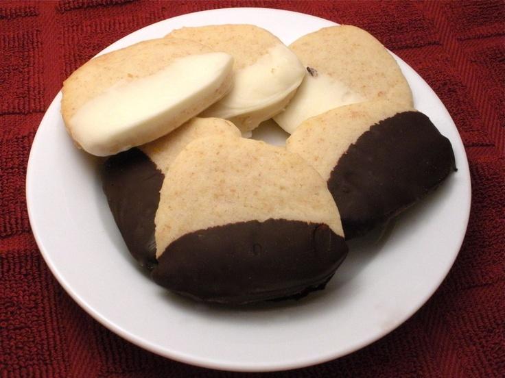 Dark Chocolate Coconut Shortbread Cookies Recipes — Dishmaps
