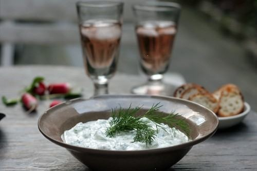 tzatziki, the only good reason for cucumbers.