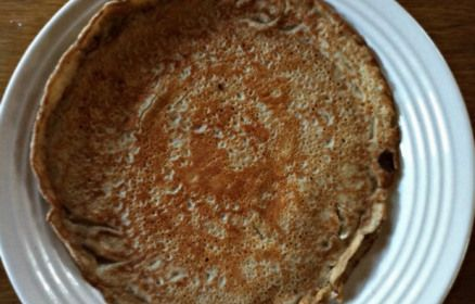 Buckwheat Crepes - recipe with gluten-free crepe template and filling ...