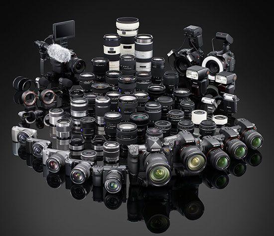 Sony Cameras 2014