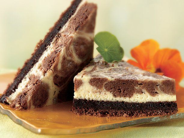 marble cheesecake bars