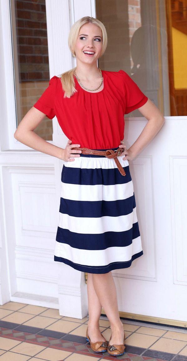 fourth of july women's attire