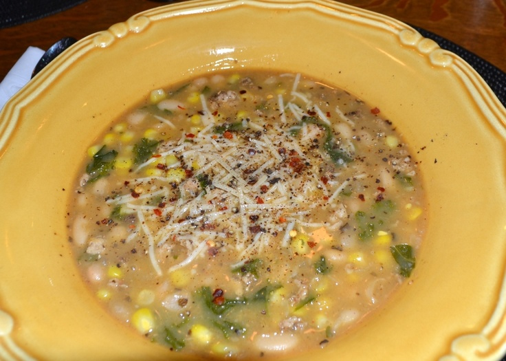 White Bean Turkey Chili | You can stay for seconds | Pinterest