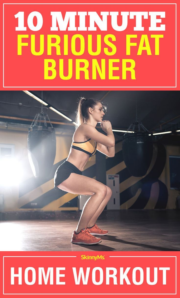 10 Minute Furious Fat Burner Home Workout