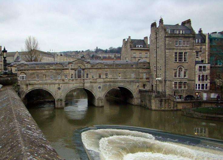 Pulteney Bridge Bath England England Pinterest