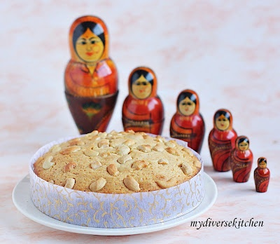 Indian Heritage: Mava Cake (An Indian Cardamom Cake)