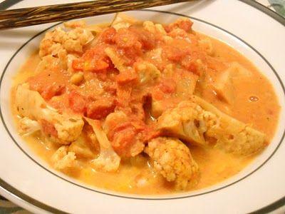 Cauliflower In Creamy Tomato Sauce Recipes — Dishmaps