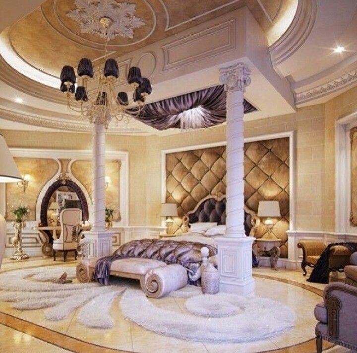Opulent bedroom design home decor pinterest for Opulent bedrooms