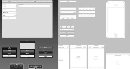 50 Free Web UI, Mobile UI, Wireframe Kits And Source Files For Designers Read more: http://www.smashingapps.com/2011/02/02/50-free-web-ui-mobile-ui-wireframe-kits-and-source-files-for-designers.html#ixzz1sGqZFBgd
