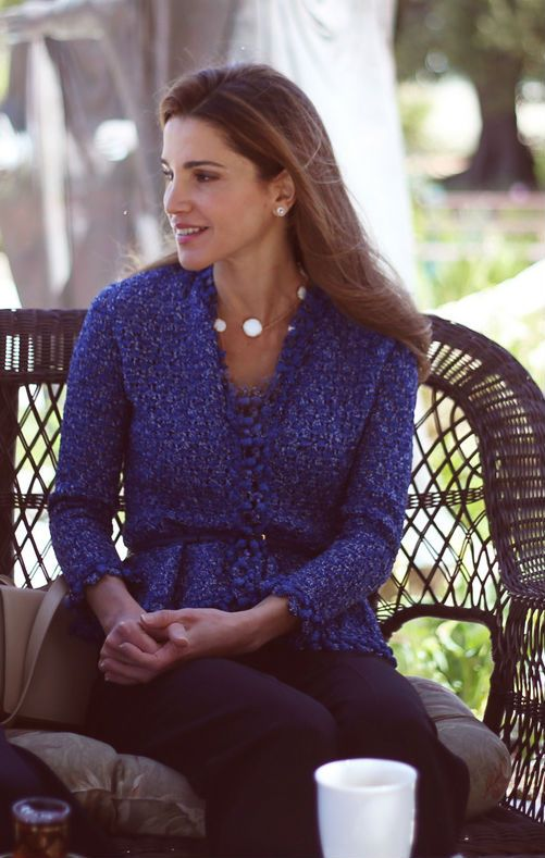 ♔♛Queen Rania of Jordan♔♛...