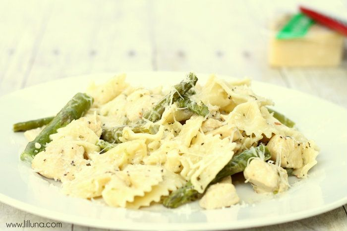 Chicken and Asparagus Pasta | Recipe